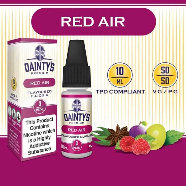 Dainty's Red Air 10ml