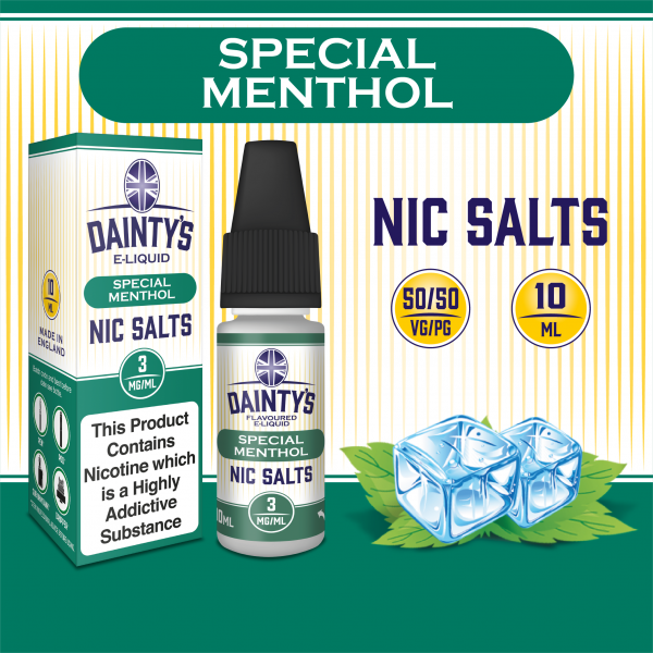Dainty's Nic Salts Special Menthol 10ml