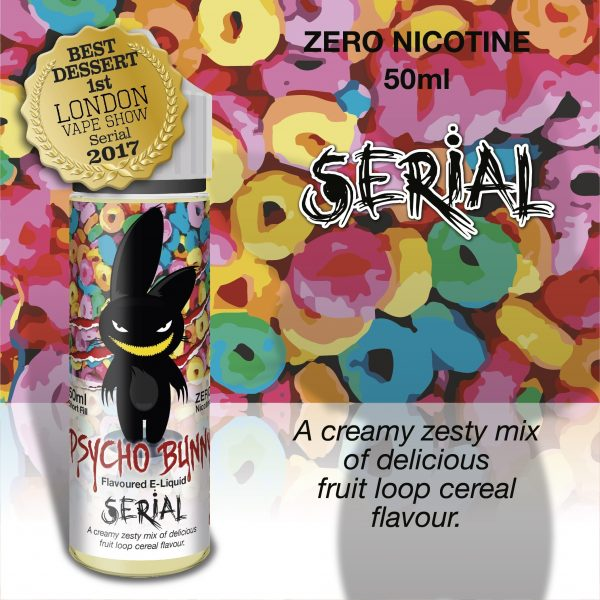 Psycho Bunny Serial Flavour MAX VG 50ML