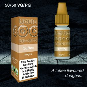 Dripping Range Liquid Do-Nuts Toffee V2 Flavour 50/50