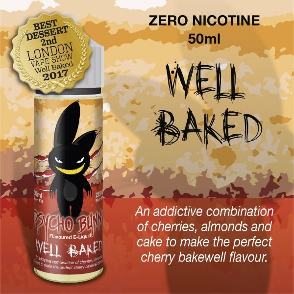 Psycho Bunny Well Baked Flavour MAX VG 50ML