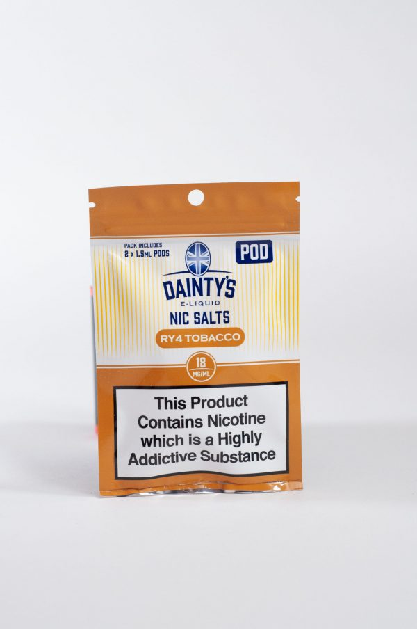 Dainty's RY4 Tobacco Pre-filled Pod 2 Pack